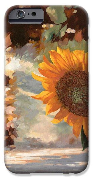 il girasole iPhone Case by Guido Borelli
