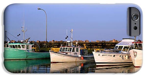 Colour Image iPhone Cases - Iles De La Madeleine, Quebec iPhone Case by Ron Watts