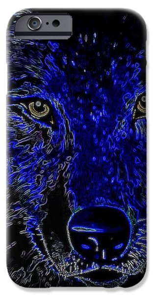 I'll Be Watching You iPhone Case by WBK