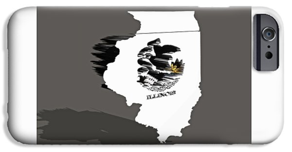 Lincoln iPhone Cases - Illinois 6a iPhone Case by Brian Reaves