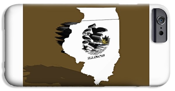 Lincoln iPhone Cases - Illinois 6b iPhone Case by Brian Reaves
