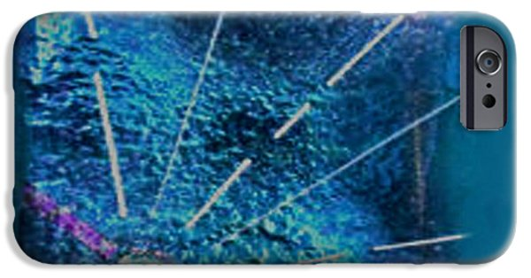 Tiled Glass iPhone Cases - Illuminate iPhone Case by Cat Christensen