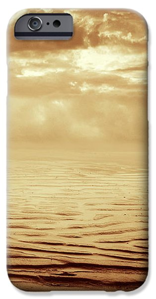 Beaches iPhone Cases - Illusion Never Changed Into Something Real iPhone Case by Dana DiPasquale