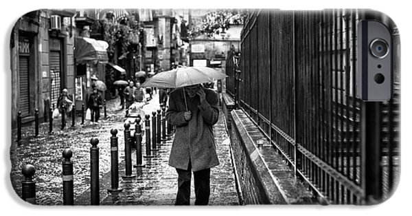 Rainy Day iPhone Cases - Im Coming Home iPhone Case by John Rizzuto