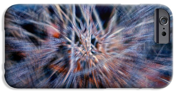 Abstract Digital iPhone Cases - Im Dreaming iPhone Case by Linda Sannuti