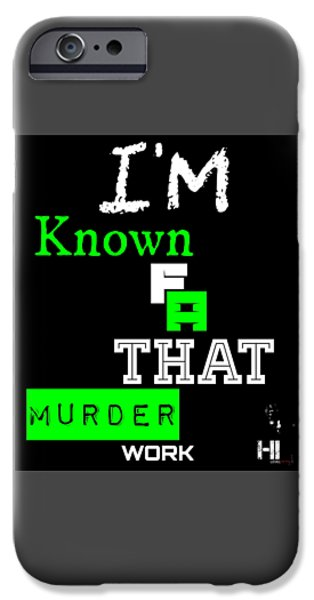 Cities Tapestries - Textiles iPhone Cases - Im Known iPhone Case by HI Level