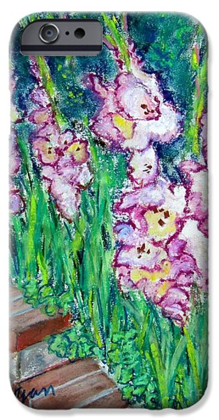 Spring Reliefs iPhone Cases - Im So Glad iPhone Case by Laurie Morgan