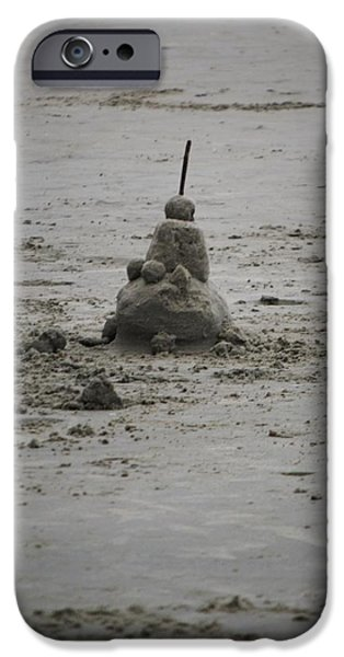 Sand Castles iPhone Cases - Imagination iPhone Case by Shannon Lotterer