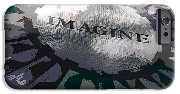 Imagine iPhone Cases - Imagine iPhone Case by Kelley King