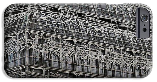 Enfants iPhone Cases - Immeuble des Bons Enfants Paris iPhone Case by Andrew Fare