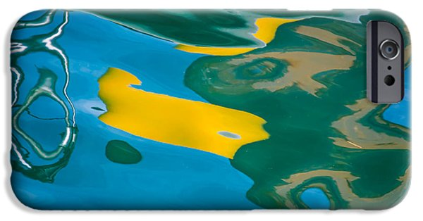 Abtracts iPhone Cases - Impressions iPhone Case by John Greco
