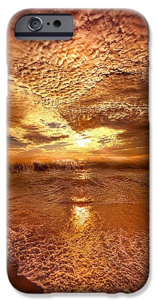Meadow iPhone Cases - In a Moment or Two iPhone Case by Phil Koch