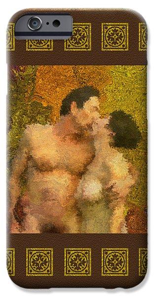 In Love iPhone Case by Kurt Van Wagner