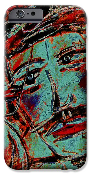 Women Together Mixed Media iPhone Cases - In Love iPhone Case by Natalie Holland