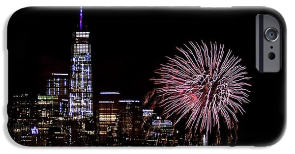 Empire State iPhone Cases - In Love We Trust iPhone Case by MingTa Li