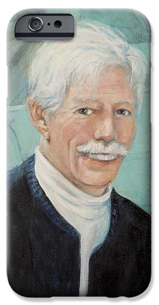 Recently Sold -  - Gray Hair iPhone Cases - In Memory of Uncle Bud iPhone Case by Donna Tucker