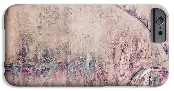 Texture iPhone Cases - In Motion iPhone Case by Mary Jean Henke