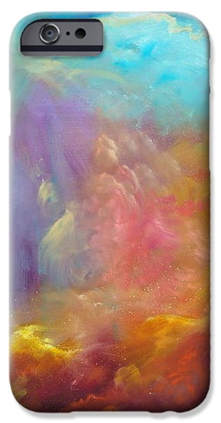 In the Beginning iPhone Case by Sally Seago