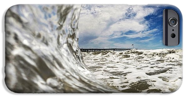 Fine Art Photo iPhone Cases - In The Drink iPhone Case by Dan Holm