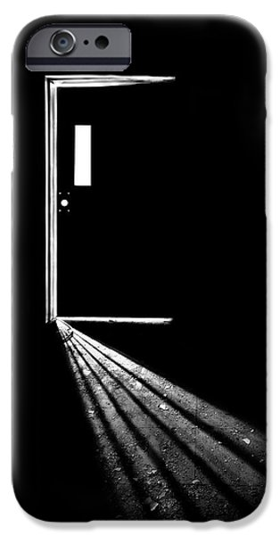 Asylum iPhone Cases - In The Light Of Darkness iPhone Case by Evelina Kremsdorf