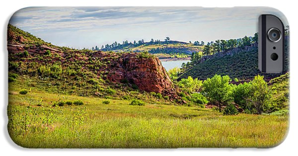 Ft Collins iPhone Cases - In The Meadow iPhone Case by Jon Burch Photography