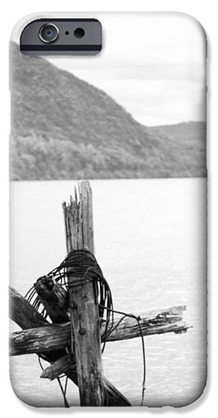 Hudson River iPhone Cases - In the River iPhone Case by Victory  Designs