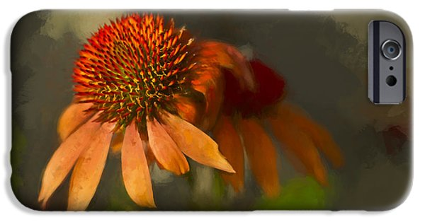 Pastel iPhone Cases - Incandescent Beauty - Painting iPhone Case by F Leblanc