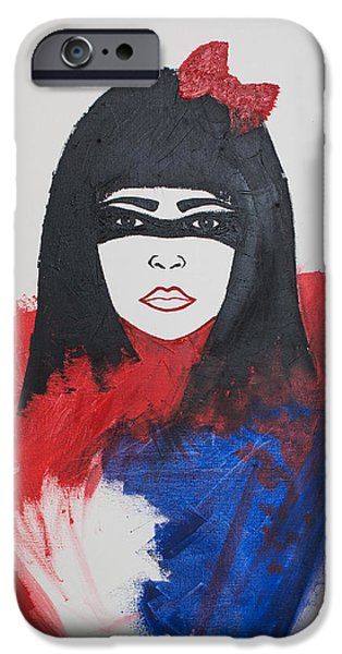 Innocence iPhone Cases - Incognito iPhone Case by Hosszu Laura