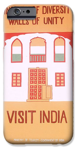 Virtual iPhone Cases - Incredible magnificent spiritual colorful grand India iPhone Case by Makarand Joshi