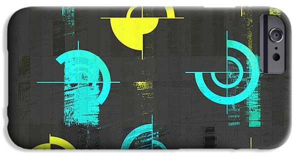 Abstract Digital Digital Art iPhone Cases - Industrial Design - s01j021129164a iPhone Case by Variance Collections
