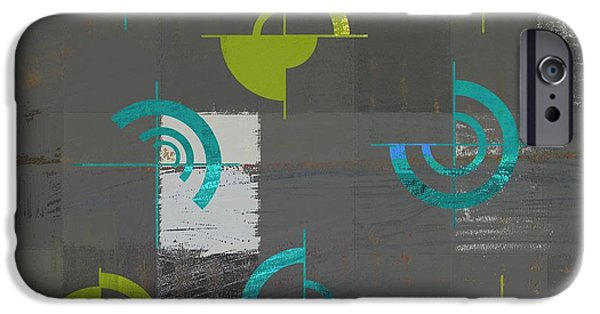 Abstract Digital Digital Art iPhone Cases - Industrial Design - s02j088129164a iPhone Case by Variance Collections
