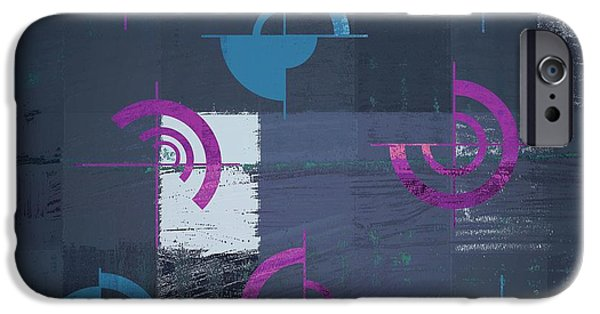 Abstract Digital Art iPhone Cases - Industrial Design - s02j088129164c3 iPhone Case by Variance Collections