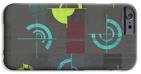 Abstract Digital Digital Art iPhone Cases - Industrial Design - s04j052088088e iPhone Case by Variance Collections