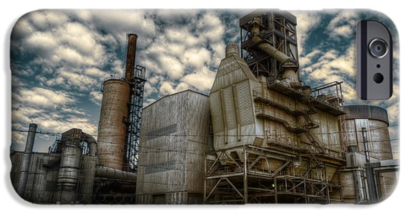 Industry iPhone Cases - Industrial Disease iPhone Case by Wayne Sherriff