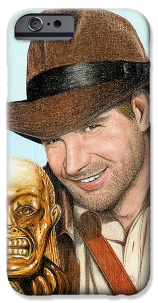 Indy iPhone Case by Bruce Lennon
