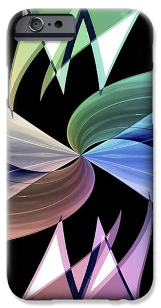 Infinity Series No.2 iPhone Case by Michael C Geraghty