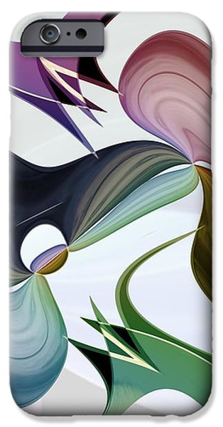 Infinity Series No.5 iPhone Case by Michael C Geraghty