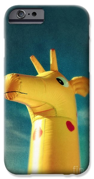 Innocence iPhone Cases - Inflatable Toy iPhone Case by Carlos Caetano