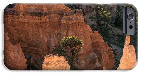 Red Rock iPhone Cases - Inner Reflections iPhone Case by Joseph Smith