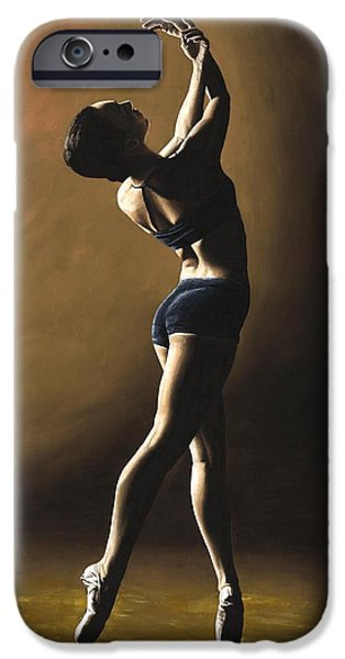 Dance iPhone Cases - Inner Sanctuary iPhone Case by Richard Young