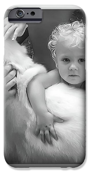Innocence And Love iPhone Case by Brian Wallace