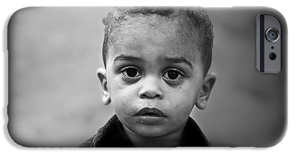 Innocence iPhone Cases - Innocence iPhone Case by Charuhas Images