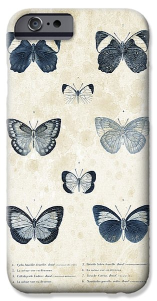Beetle iPhone Cases - Insects - 1832 - 02 iPhone Case by Aged Pixel