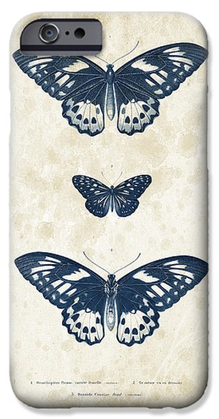 Beetle iPhone Cases - Insects - 1832 - 04 iPhone Case by Aged Pixel