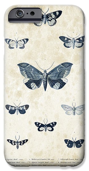 Beetle iPhone Cases - Insects - 1832 - 05 iPhone Case by Aged Pixel
