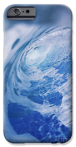 Lips iPhone Cases - Inside Of Wave Tube iPhone Case by Ali ONeal - Printscapes