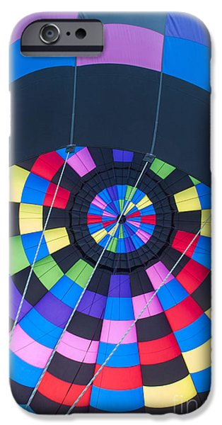 Hot Air Balloon iPhone Cases - Inside the Balloon iPhone Case by Juli Scalzi