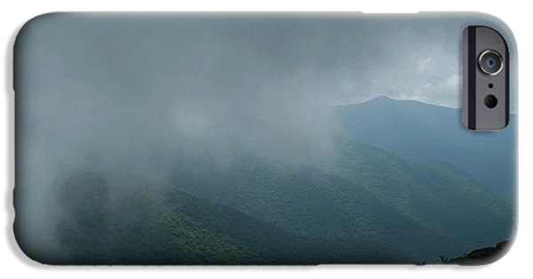 Mist iPhone Cases - Inside The Fog iPhone Case by Christal Randolph