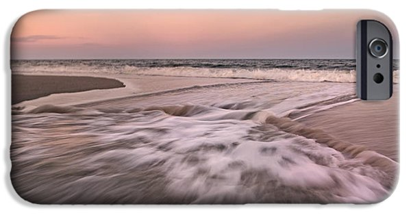 Timing iPhone Cases - Inspiring Beach Scenes iPhone Case by Betsy C  Knapp