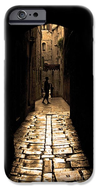 Alley Photographs iPhone Cases - Insular Calm iPhone Case by Andrew Paranavitana